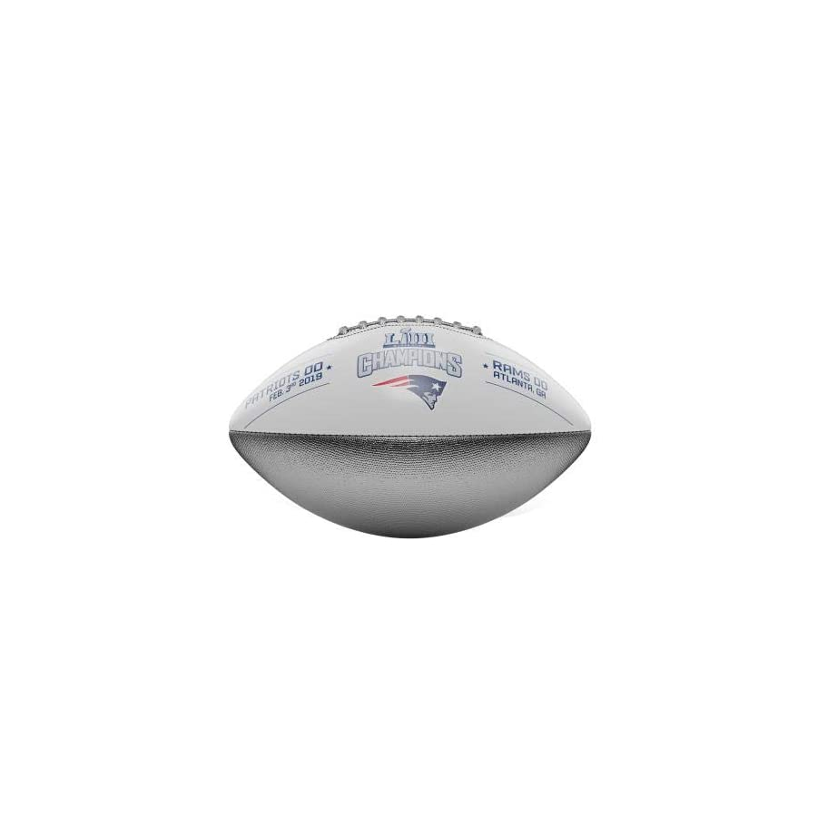 Patriots Super Bowl LIII (53) Football Special Limited Production Champions Football