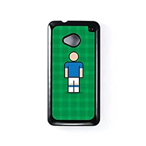 Everton Black Hard Plastic Case for HTC? One M7 by Blunt Football + FREE Crystal Clear Screen Protector
