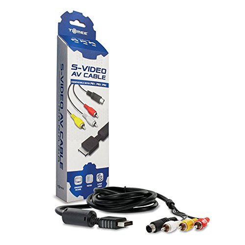 Tomee S-Video AV Cable for PS3/ PS2/ PS1 ()