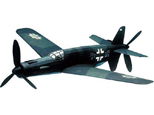 Pro Wood Propeller - Dornier Do335: West Wings Rubber Powered Balsa Wood Flying Scale Model Plane