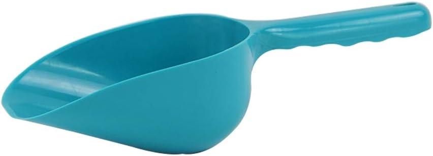 Sencillo Alimentador de alimentos para mascotas de plástico Cuchara de cucharada Cuchara de pala Herramientas de jardinería para el hogar Palas de plástico, Tamaño: 29 * 10 * 7.5 cm