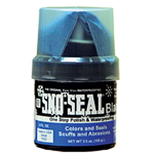 (Sno-Seal  Black 3.5. oz. (100 gram) with applicator Waterproofing)