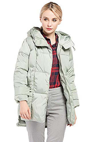 Blouson Hiver Unicolore Femme Manches Young Styles Quilting Warm Longues avec Fermeture Trench a005wq