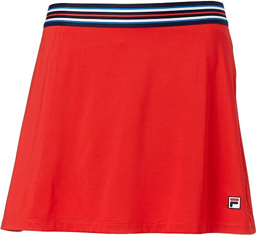 Fila Heritage A Line Skirt - Chinese Red/Navy - ()