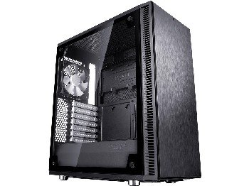 Fractal Design ATX Mid Tower Cases FD-CA-DEF-C-BK-TG by Fractal Design