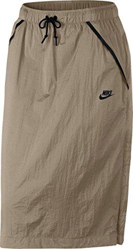 Nike Running Skirt - Nike Women's Tech Hypermesh Sportswear Skirt-Khaki-XS
