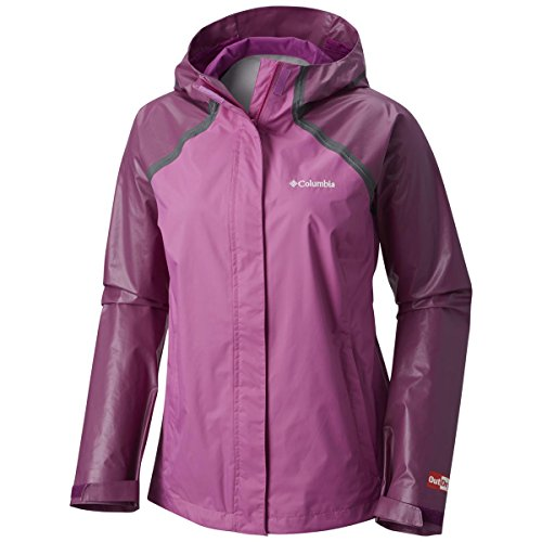 Columbia Women's Outdry Hybrid Jacket - Extended Sizes 1Xlarge Brght Lavender/Violet