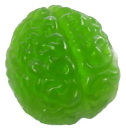 Halloween Brain Gelatin Mold (Scary Halloween Snacks Recipes)