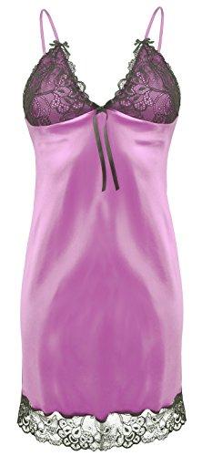 Postero PN007 muñeca camisón raso o cama de matrimonio lencería camisón ababol Heath