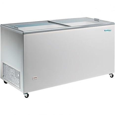 Congelador puerta profesional 327 L frío con ventilación: Amazon ...