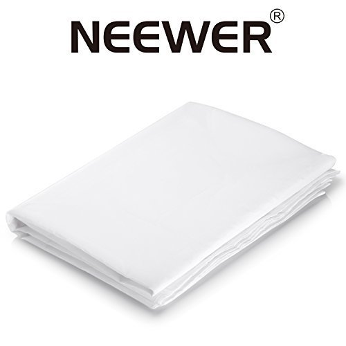 Neewer 2 Yard x 60 Inch/1.8M x 1.5M Nylon Silk White Seamless Diffusion Fabric for Photography Softbox,Light Tent and Lighting Light Modifier by Neewer