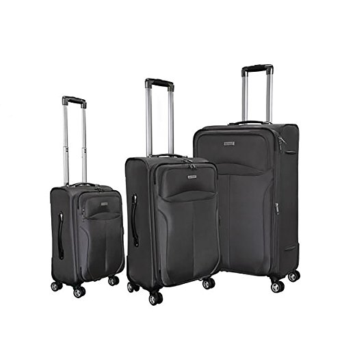Magari Luggage 3-Piece Sets Expandable Lightweight 4 wheels Spinner Trolley Suitcase by Magari