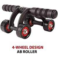 Mix Cart Ab Roller 4 Wheel Abs Carver for Abdominal & Stomach Exercise Training