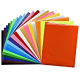 Fame Crafts Heat Transfer Vinyl Bundle 12'x10'- 20 Pack of Assorted...