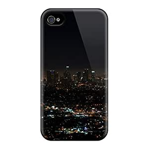 High Grade Flexible PC Case Cover For SamSung Galaxy Note 3 Los Angeles Night Lights