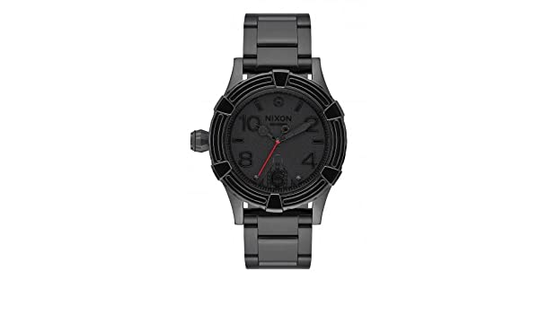 Amazon.com: NIXON watch Star Wars, Darth Vader A410SW2244 Man Black Steel: Watches