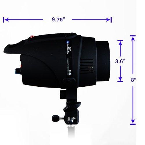 LimoStudio Photography 180W Photo Monolight Flash Strobe Studio Photography Light Lighting, AGG824