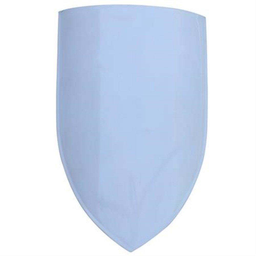 Blank European Warrior Knight Classic Medieval Heater Steel Kite Shield LARP