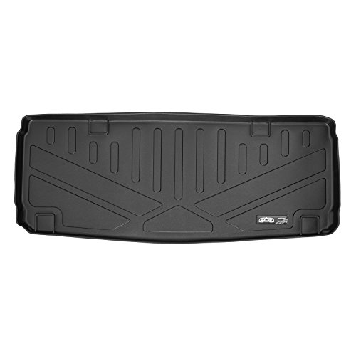 (SMARTLINER All Weather Cargo Liner Floor Mat Behind 3rd Row Black for 2013-2018 Mercedes Benz GL/GLS)