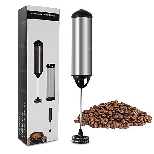 GREATONE Electric Milk Frothers Handheld Foam Beater Milk Frother Battery Operated Mini Smoothie Blender For coffee…