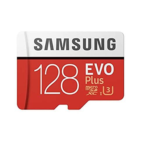 - 414cS4vku9L - Samsung 128GB EVO Plus Class 10 Micro SDXC with Adapter (MB-MC128GA)