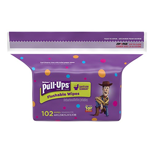 Huggies Pull Ups Flushable Wipes Pack