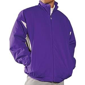 Purple Pro Style Full-Zip Therma Base Jacket