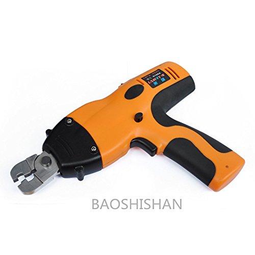 BAOSHISHAN AG-6100 充電式圧着工具 電動圧着機 ポータブル端子圧着器 精密圧着 B07CB1B85P