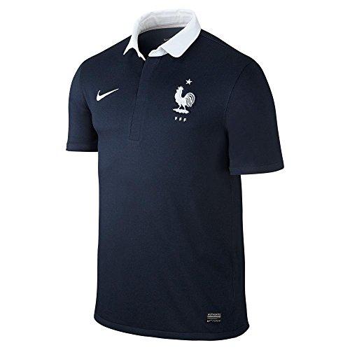 (NIKE 2014-15 France Home World Cup Football Shirt)