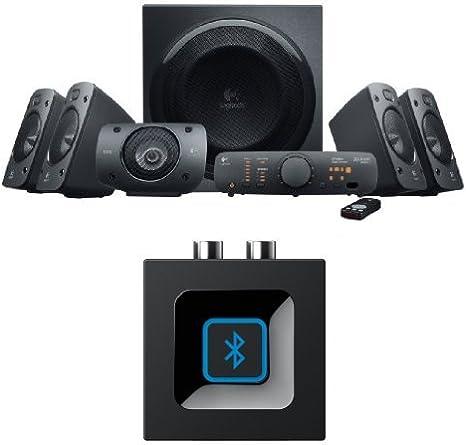 Logitech Z906 5.1 Surround Sound Speaker System, THX, Dolby & DTS Certified, 1000 Watts Peak Power,PCPS4XboxMusic PlayerTVSmartphoneTablet +