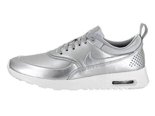 Nike Damen Air Max Thea Laufschuhe Metallic Silber / Metallic Silber-Weiß