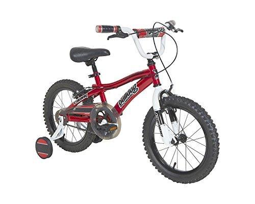Dynacraft Boys Bulldog Bike Red/Black/White 16 [並行輸入品] B077S86P17