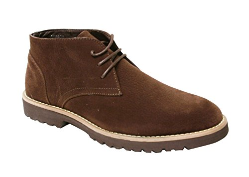 - Mens Lace Up Oxford High Top Non Slip Casual Dress Walking Shoes (Oregon) Brown 10.5