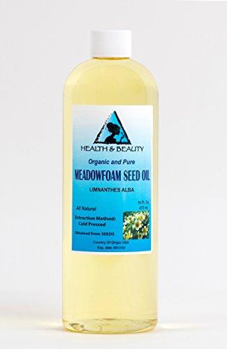 (Meadowfoam Seed Oil Organic Carrier Expeller Pressed 100% Pure 16 oz)