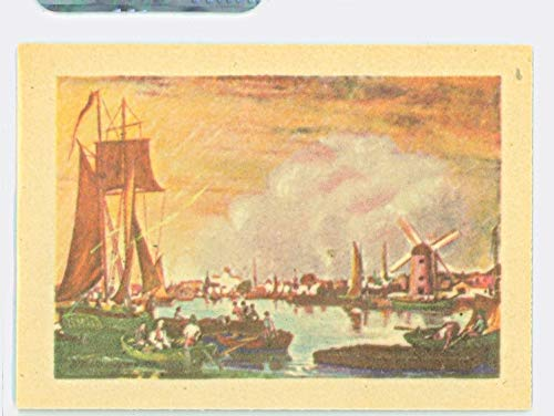 (1956 Adventure #51 Boston's Skyline Near-Mint to Mint (8 out of 10) by Mickeys Cards )