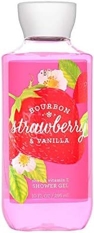 Bath & Body Works Shower Gel Bourbon Strawberry & Vanilla