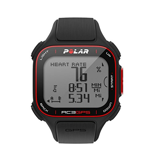 Polar RC3 GPS Bike with Heart Rate Monitor, (Polars Series Cadence Sensor)