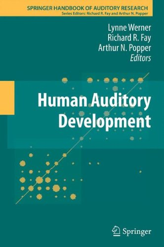 Human Auditory Development (Springer Handbook of Auditory Research)