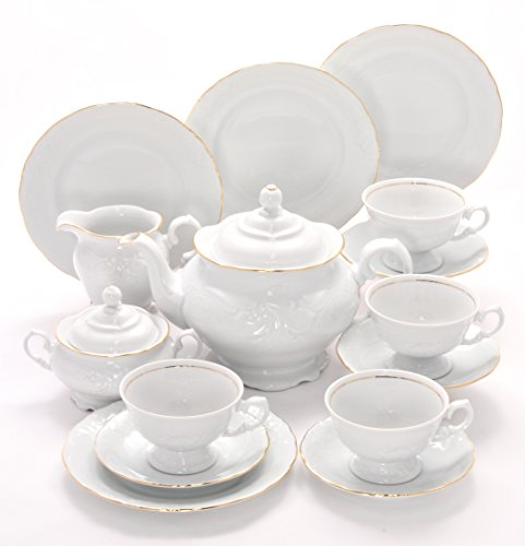 (Tea With Grace Elegance Fine China Tea Set for Four)