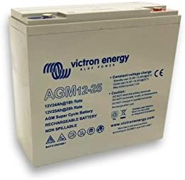 Batteria 25Ah 12V AGM Super Cycle Victron Energy Fotovoltaico Nautica Camper BAT412025081 Victron Energy