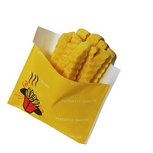 Novelty French Fry Handmade Soap - Funny Natural Vegan Food Soap, Fun Soap - Best Cute Gag Gift for Kids Children ()