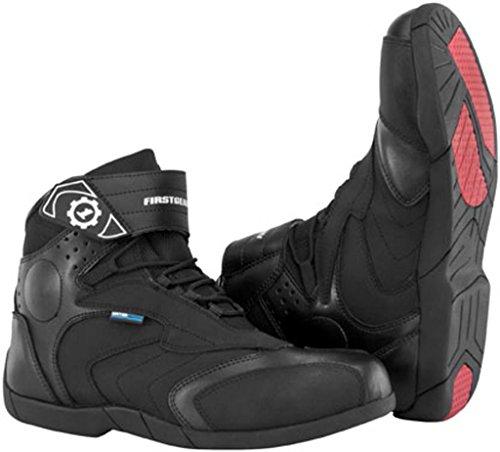 Firstgear Kili LO Leather Waterproof Motorcycle Boot Black Size 12