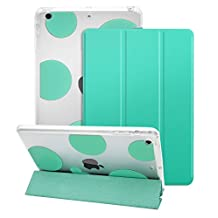 Dailylux iPad mini Case,ipad mini 2 Case,ipad mini 3 Case, Smart Folio Stand Cover Ultra Slim Light Shockproof TPU + Hard PC romantic bubble w/ Auto Sleep/Wake Function for ipad mini 1/2/3-Mint green