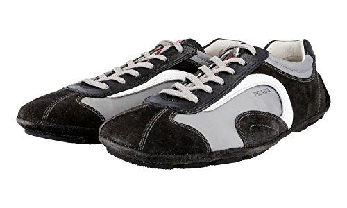 Sneaker In Pelle Prada Mens 4e1165 Otq F0fhm