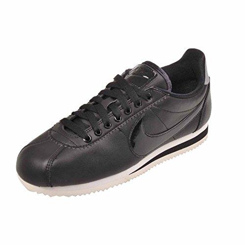 Classic black Grey Sneaker Cortez cool Black reflect Nike Nylon Donna Silver RndTZwTqxO