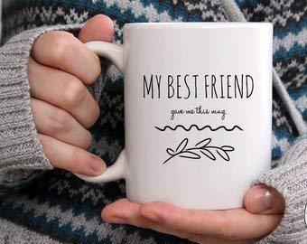 Amazon Best Friend Coffee Mug Long Distance Funny