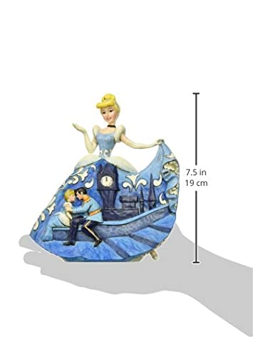 Disney Traditions by Jim Shore Cinderella 65th Anniversary Stone Resin Figurine, 7.25