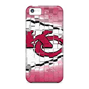 Hot Tpye Kansas City Chiefs Case Cover For Iphone 5c