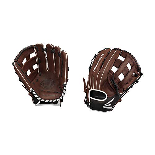 "EL Jefe Slow-Pitch Series Baseball Glove, Right Hand Throw, 13"", Coffee, H Web"
