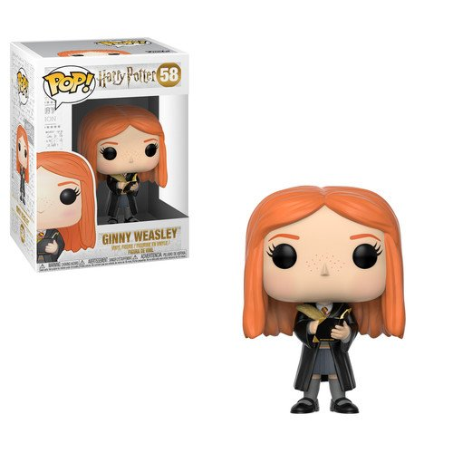 New Funko Pop: Harry Potter-Ginny Weasley with Diary, Multicolor free shipping